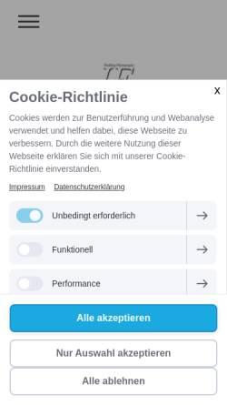 Vorschau der mobilen Webseite www.jarre-foto.de, Preetz-Foto