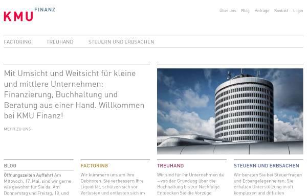 Vorschau von www.kmufinanz.ch, KMU Finanz AG