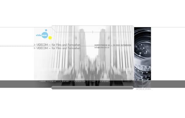 Vorschau von www.videcom.ch, Videcom AG für Audio und Videokommunikation