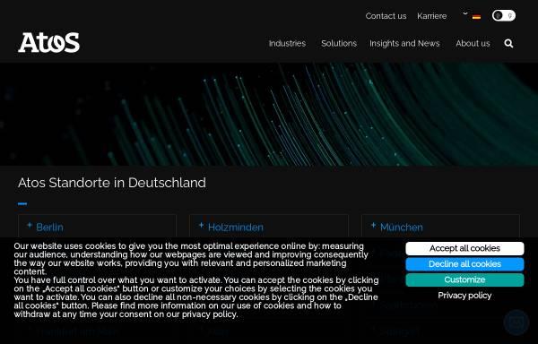 Vorschau von www.atosorigin.com, Atos Origin GmbH, Dominique Illien