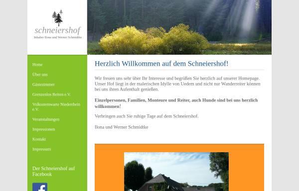 Vorschau von www.ferien-am-niederrhein.de, Ferienwohnung U. Wackermann