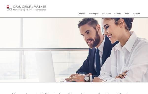 Vorschau von www.grau-partner.de, Grau & Partner GbR, Steuerberater und Wirtschaftsprüfer