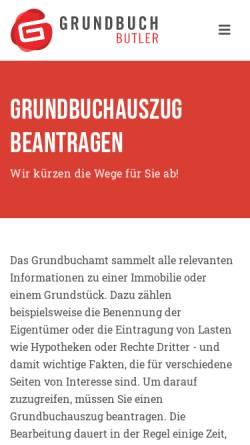 Vorschau der mobilen Webseite www.ra-kempf.de, Kempf & Dannenfeldt, Rechtsanwälte