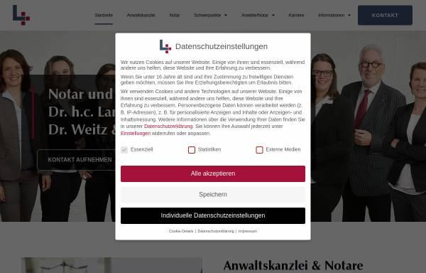 Vorschau von www.anwaltskanzlei-lankau.de, Lankau und Collegen, Rechtsanwälte