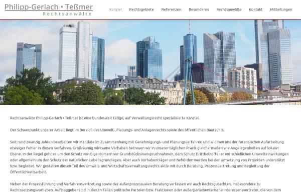 Vorschau von www.pg-t.de, Philipp-Gerlach und Tessmer, Rechtsanwälte