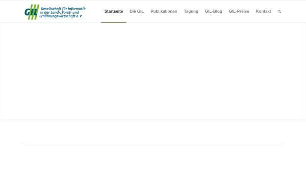 Vorschau von www.gil.de, Gesellschaft für Informatik in der Land-, Forst- und Ernährungswirtschaft
