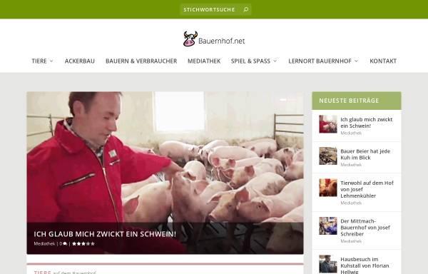 Vorschau von www.bauernhof.net, Bauernhof.net