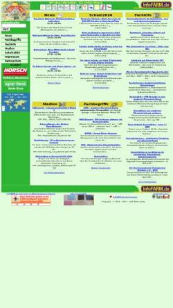 Vorschau der mobilen Webseite www.infofarm.de, InfoFarm