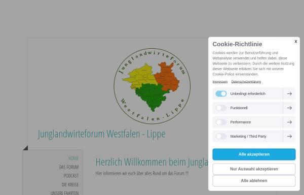 Vorschau von www.junglandwirte-forum.de, Junglandwirte-Forum / Das Forum für Junglandwirte in Münster