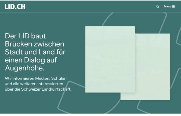 Vorschau von www.lid.ch, Landwirtschaftlicher Informationsdienst