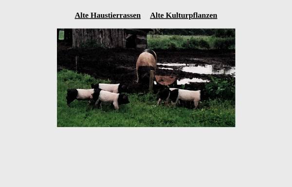 Vorschau von www.alte-haustierrassen.de, Portal für alte Haustierrassen und alte Kulturpflanzen