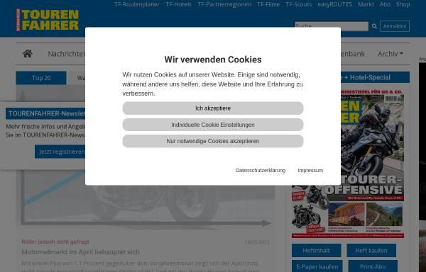Vorschau von www.tourenfahrer.de, Tourenfahrer.de