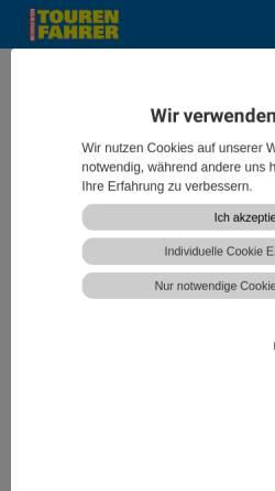 Vorschau der mobilen Webseite www.tourenfahrer.de, Tourenfahrer.de