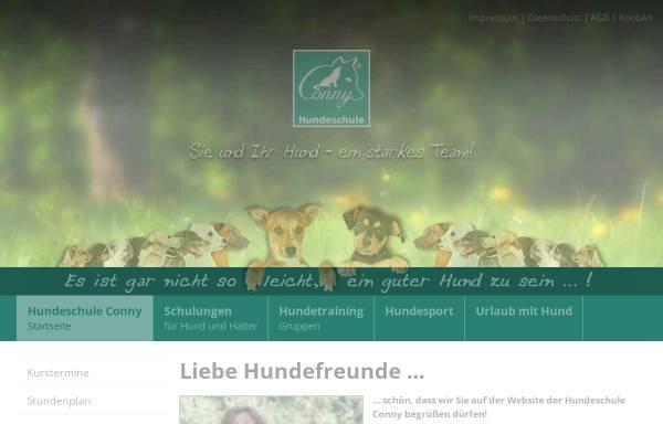 Vorschau von www.hundeschule-conny.de, Conny - Hundeschule