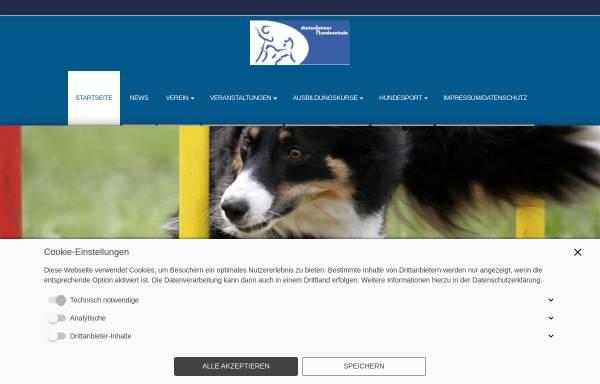 Vorschau von www.irjgv-dietenheim.de, Dietenheimer Hundeschule