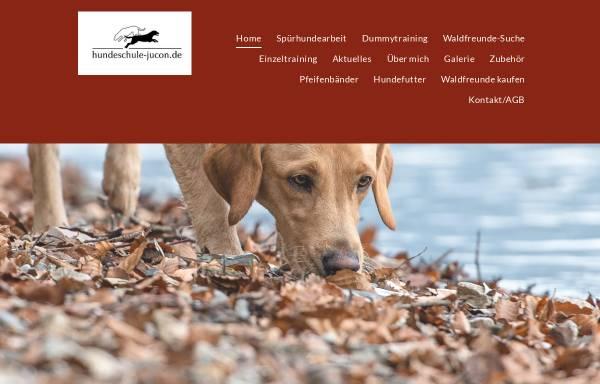 Vorschau von www.hundeschule-jucon.de, Hundeschule Jucon - Hundeerziehung mit Spass und Motivation