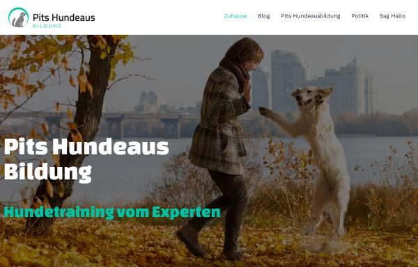 Vorschau von www.pits-hundeausbildung.de, Pits Hundeausbildung