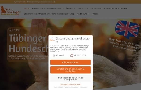 Vorschau von www.tuebinger-hundeschule.de, Tübinger Hundeschule