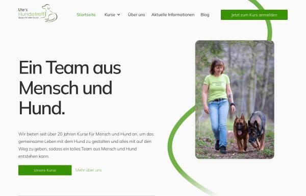 Vorschau von utes-hundetreff.de, Ute's - Hundetreff