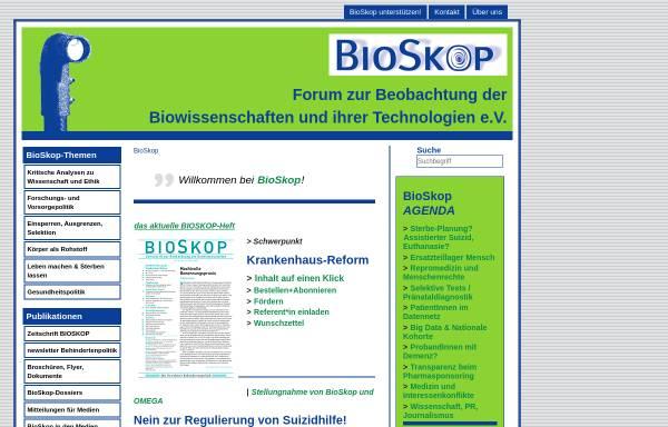 Vorschau von www.bioskop-forum.de, BioSkop