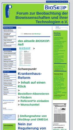 Vorschau der mobilen Webseite www.bioskop-forum.de, BioSkop