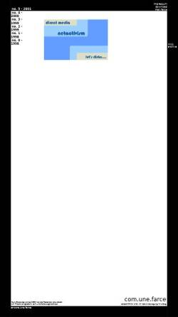 Vorschau der mobilen Webseite www.copyriot.com, com.une.farce
