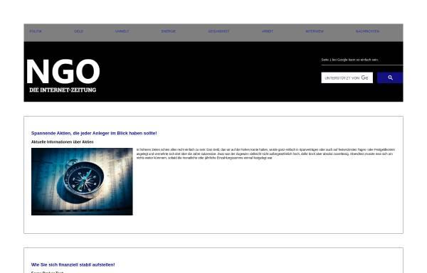 Vorschau von www.ngo-online.de, NGO-Online