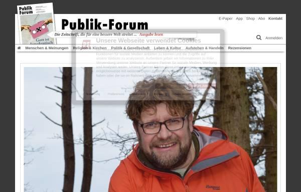 Vorschau von www.publik-forum.de, Publik-Forum