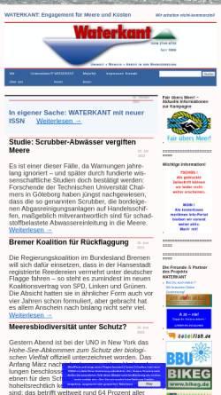 Vorschau der mobilen Webseite www.waterkant.info, Waterkant