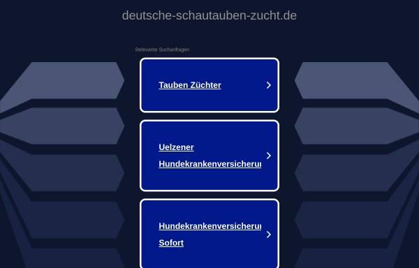 Vorschau von www.deutsche-schautauben-zucht.de, Deutsche Schautaubenzucht