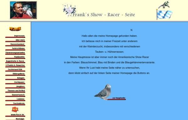 Vorschau von www.show-racer-seite.de, Franks Show Racer Seite