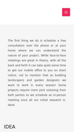 Vorschau der mobilen Webseite www.neuhauser-gartengestaltung.de, Neuhauser Gartengestaltung