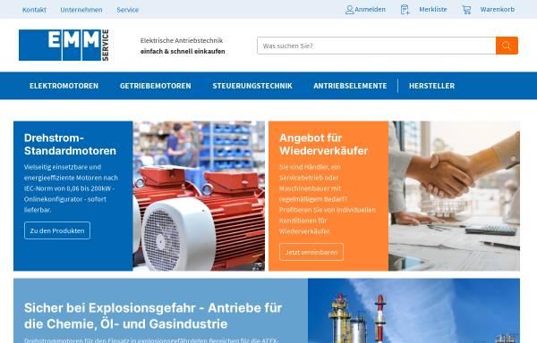 Vorschau von www.elektromotorenmarkt.de, Elektromotorenmarkt.de