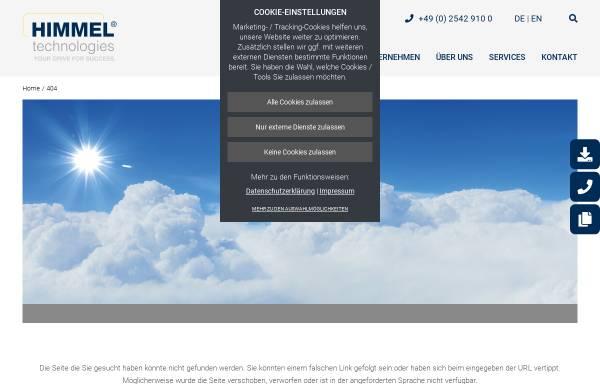 Vorschau von www.himmelinfo.de, Neudecker & Jolitz GmbH & Co.