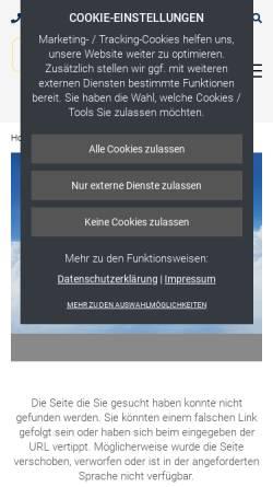 Vorschau der mobilen Webseite www.himmelinfo.de, Neudecker & Jolitz GmbH & Co.