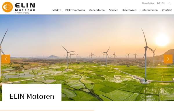 Vorschau von www.elinebgmotoren.at, VA Tech Elin EBG Motoren GmbH