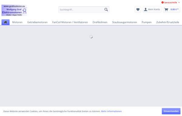 Vorschau von www.grafmotoren.eu, Wolfgang Graf - Elektromotoren