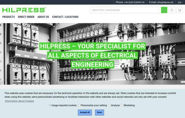 Vorschau von www.hilpress.com, Hilpress GmbH