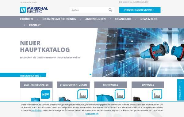 Vorschau von marechal.com, Marechal GmbH