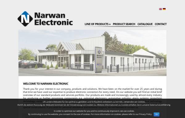 Vorschau von www.narwan-electronic.de, Narwan Electronic GmbH