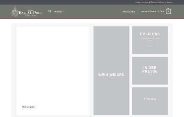 Vorschau von weinpohl.de, Weingut Karl O. Pohl