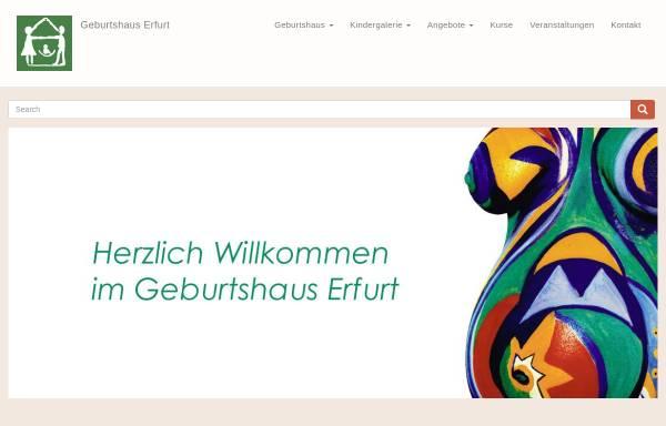 Vorschau von www.erfurter-geburtshaus.de, Geburtshaus Erfurt