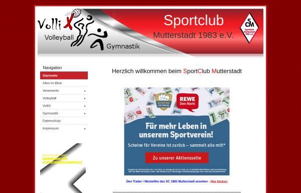 Vorschau von www.sc-mutterstadt.de, Sport Club 1983 Mutterstadt
