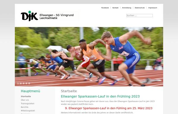 Vorschau von www.leichtathletik-ellwangen.de, DJK Ellwangen - SG Virngrund