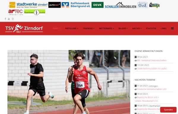 Vorschau von www.leichtathletik-zirndorf.de, Leichtathletik des TSV-Zirndorf