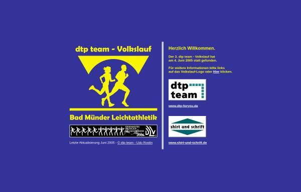 Vorschau von www.tuspobadmuender.de, Leichtathletikabteilung des Tuspo Bad Münder