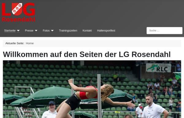 Vorschau von www.lg-rosendahl.de, Leichtathletik-Gemeinschaft Rosendahl