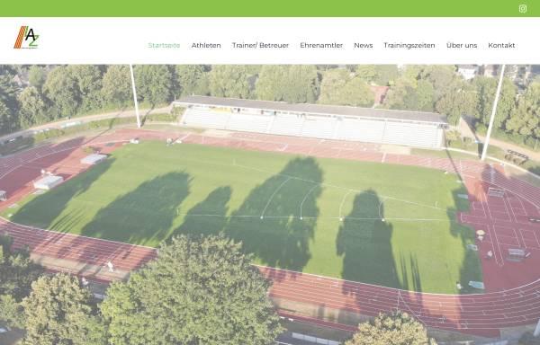Vorschau von www.laz-online.de, Leichtathletikzentrum Mönchengladbach