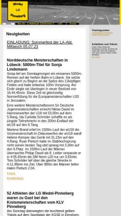 Vorschau der mobilen Webseite www.lgwedel-pinneberg.de, LG Wedel-Pinneberg