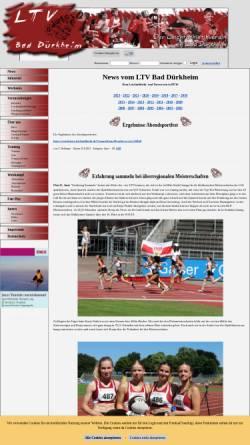 Vorschau der mobilen Webseite www.ltv-online.info, LTV Bad Dürkheim